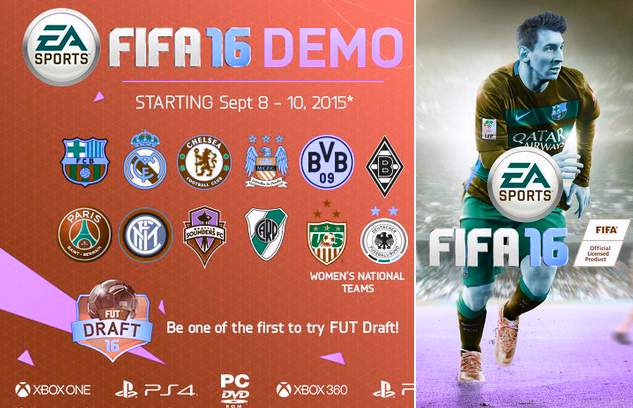 Download FIFA 16 Demo