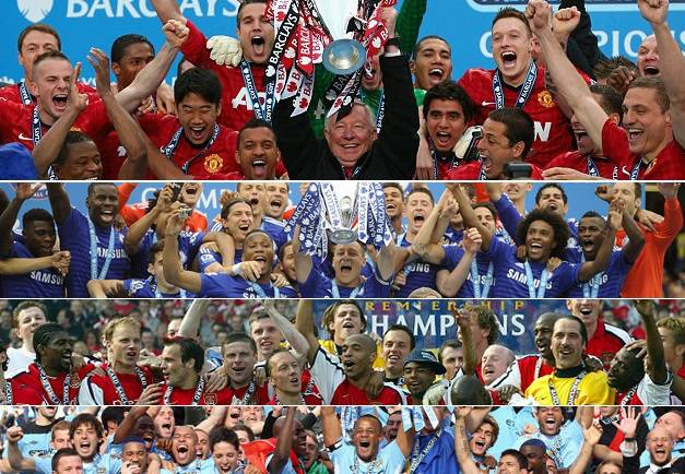 List of Premier League title winners since 1992
