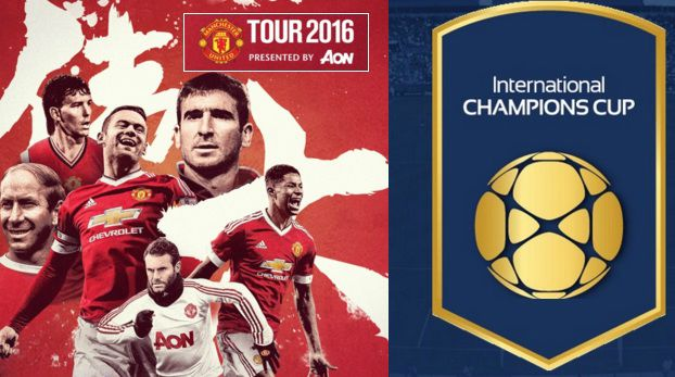 Manchester United Pre-Season Fixtures 2016