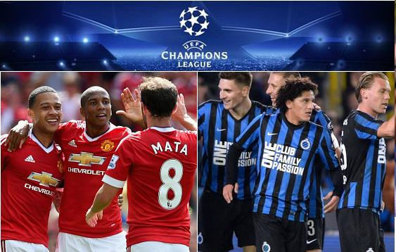 Man Utd vs Club Brugge Highlights