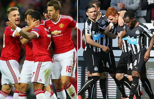 Man utd vs newcastle highlights