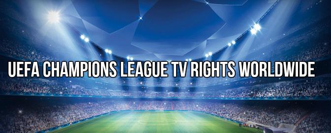 UEFA Champions League TV rights worldwide