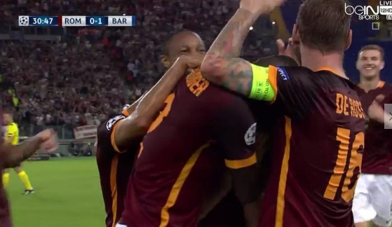 Alessandro Florenzi goal video vs Barcelona