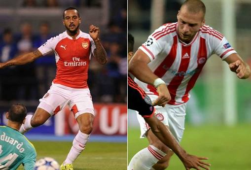 Arsenal vs Olympiakos Live Stream Highlights