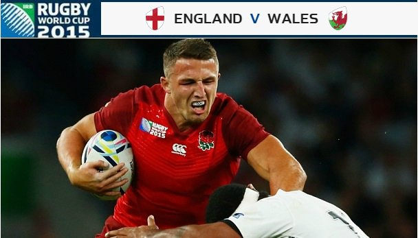 England vs Wales Rugby World Cup 2015