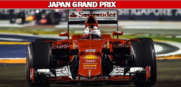 Japanese Formula 1 Grand Prix Live Stream