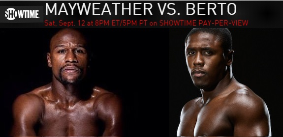 Mayweather vs Berto Live Streaming Free