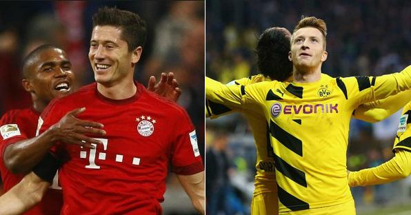Bayern Munich vs Borussia Dortmund Live Stream Highlights