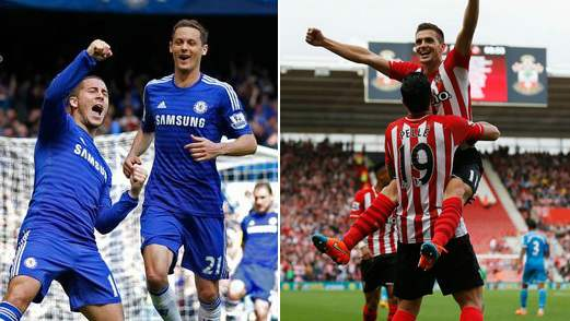 Chelsea vs Southampton Highlights 2015-16