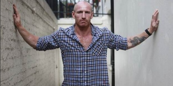 Gareth Thomas Only Openly gay Rugby Player