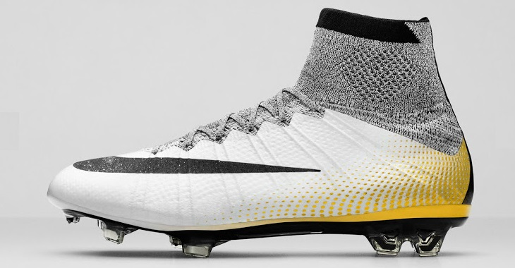 New Ronaldo Mercurial Superfly CR7 324K Gold Boot 2016