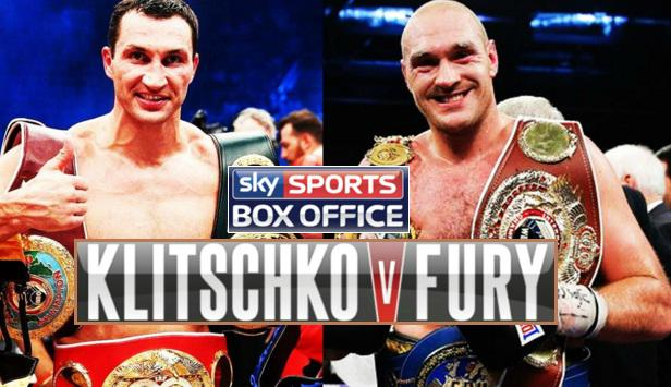 Klitschko-Fury Live Stream links