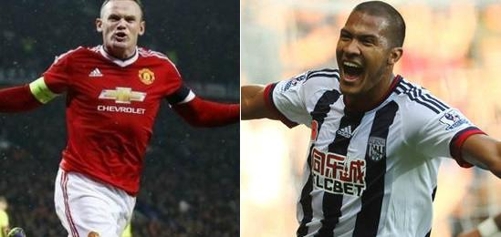 Manchester United vs West Brom Highlights 2015