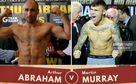 Murray vs Abraham Live Stream