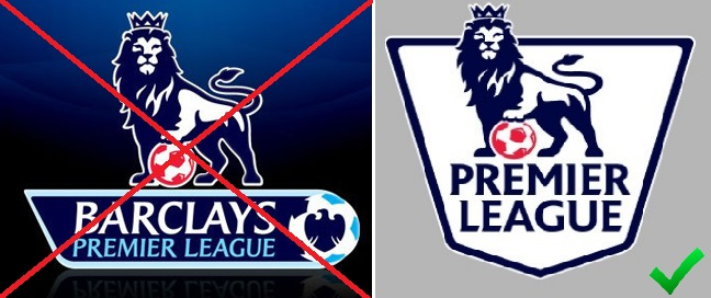 Premier League name sponsor no more