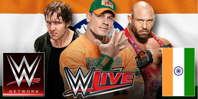 WWE India Tour Tickets 2016