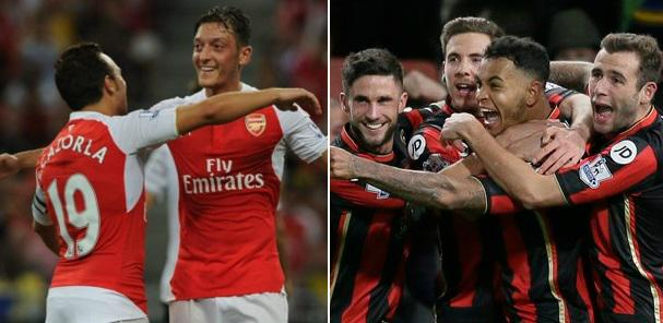 Arsenal vs Bournemouth Video Highlights