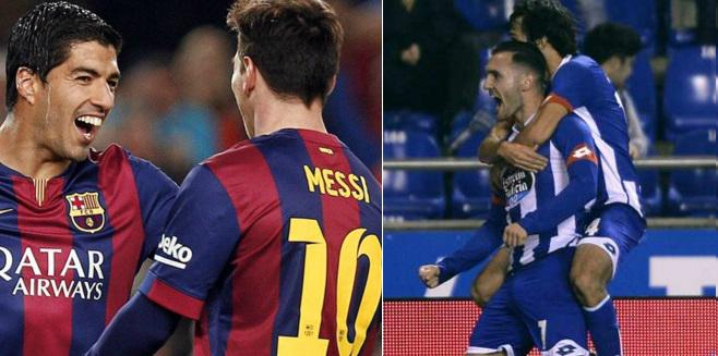 Barcelona vs Deportivo Highlights Video