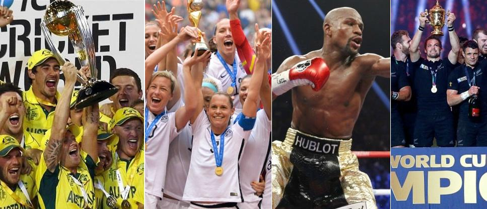 Best Sports moments of 2015