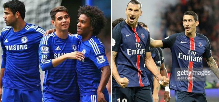 Chelsea vs PSG 2016 champions League