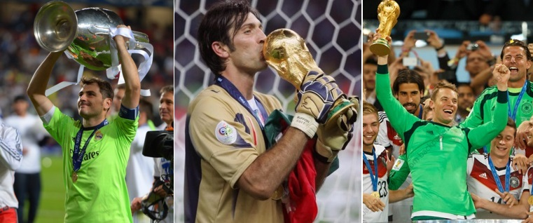 Greatest goal-keepers of all times