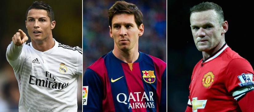 Highest paid footballers in 2016