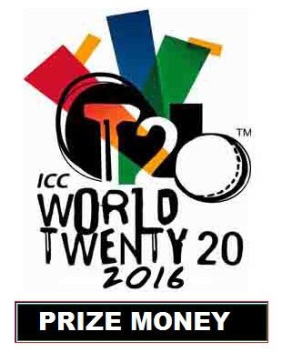 ICC World Twenty20 2016 Prize Money confirmed
