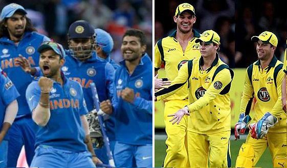 India vs Australia odi t20 squads