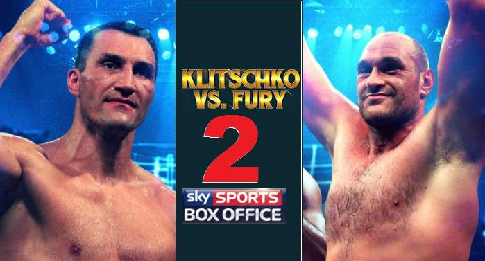 Klitschko vs Fury II Rematch date 2