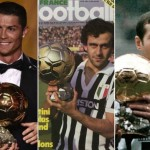 List Of Ballon d'Or Winners Since 1956 To 2019