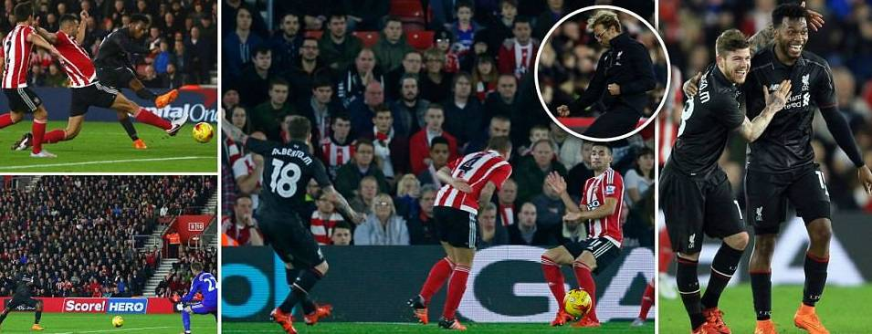 Liverpool 6-1 Southampton Highlights Capital One Cup 2015