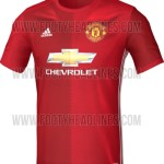 Manchester United 2017 home kit