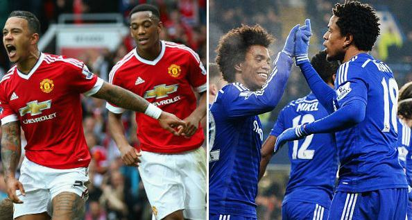 Manchester United vs Chelsea Highlights Video 2015