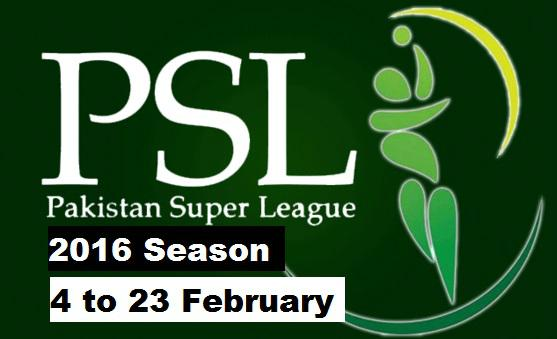 Pakistan Super League Team Names