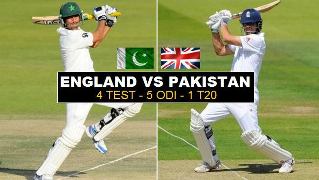 Pakistan vs England Schedule