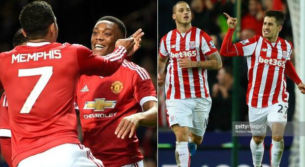 Stoke City vs Manchester United Highlights Video