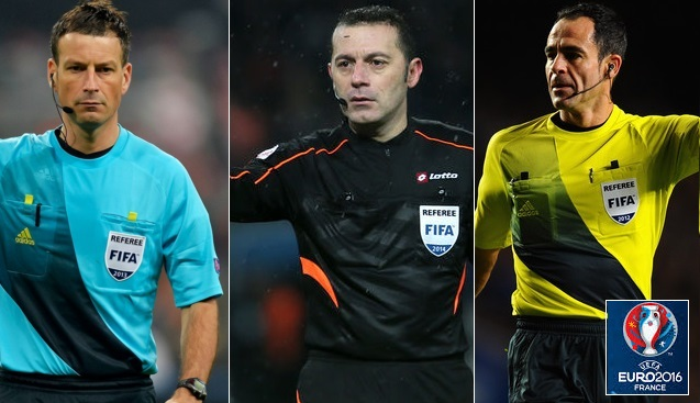 Euro 2016 Referee and assistant list announced by UEFA