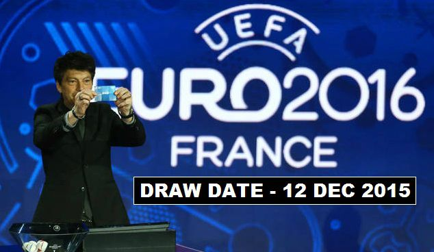 Euro 2016 Group Stages Draw