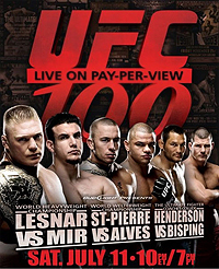 UFC 100 Highest Grossing UFC fight of all times