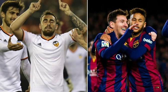 Valencia vs Barcelona Highlights 2015-16