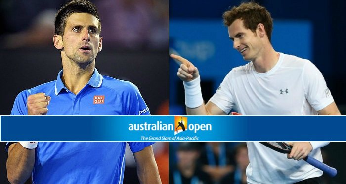Djokovic vs Murray Live stream Australia Open 2016