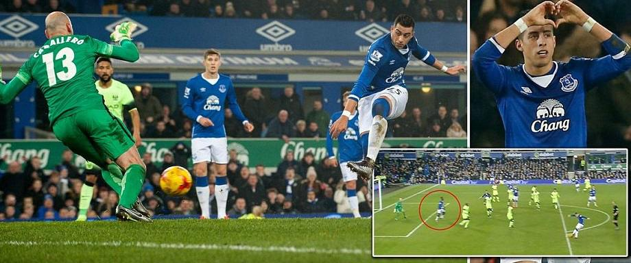 Everton vs Man City Highlights Capital One Cup
