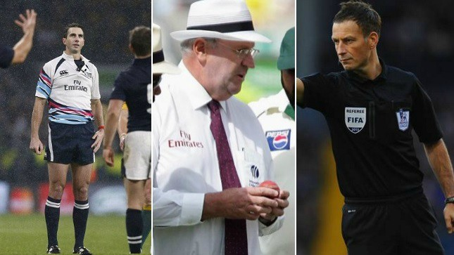 Most controversial referees
