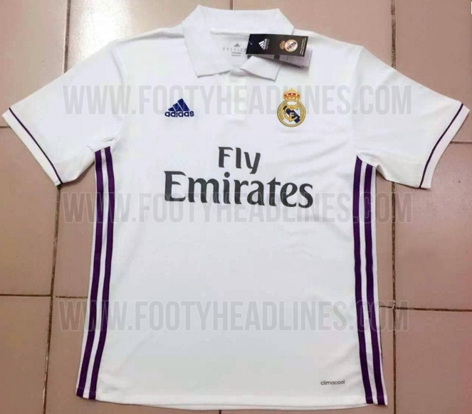 Real Madrid home kit leaked