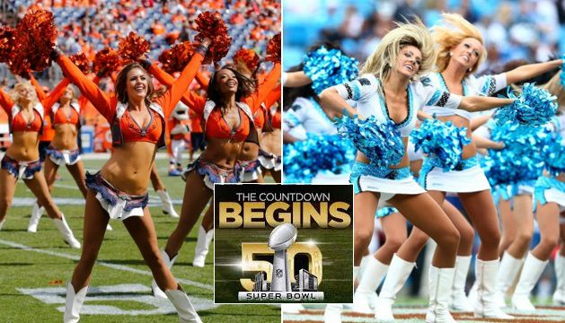 Hottest Cheerleaders of Super Bowl 2016