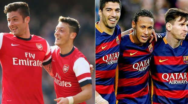 Barcelona vs Arsenal Highlights 2016