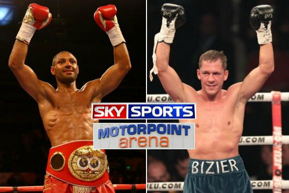 Kell Brook vs Kevin Bizier Fight Live
