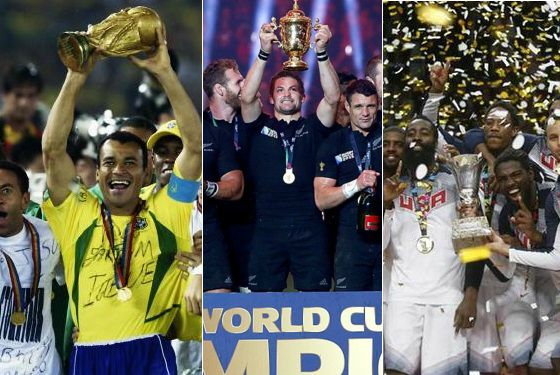 Top countries with domination in specific sports