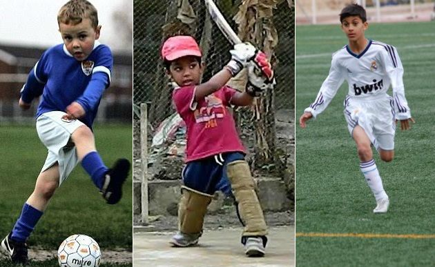Highly Talented Kids who will become sports superstars in future