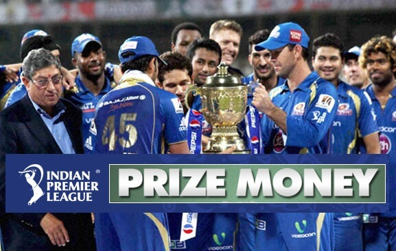 IPL Prize Money